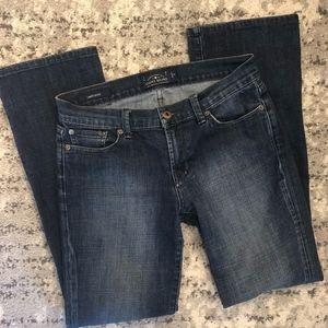 NWOT LUCKY BRAND Sweet Boot Denim Jeans 4/27 R